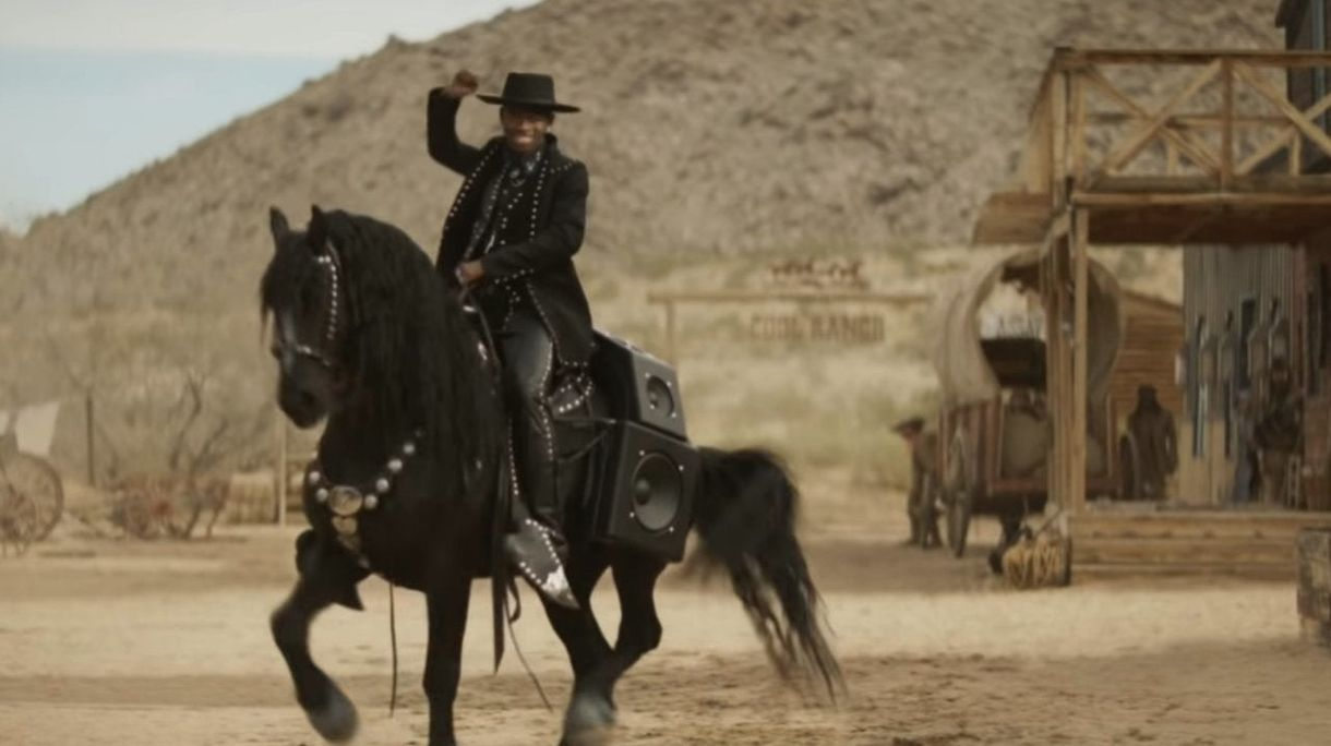 "Super Bowl 2020: Lil Nas X Squares off s ""Ranch"" Star Sam Elliott v ""Old Town Road"" Doritos Commercial"