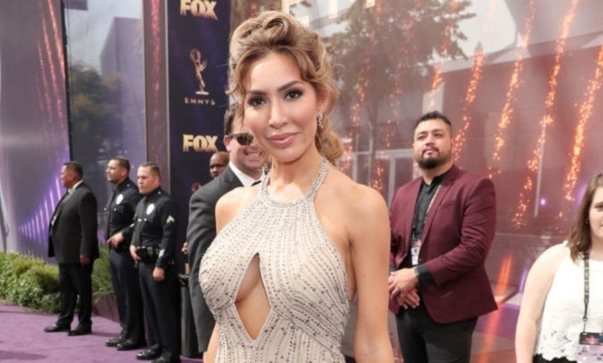 Emmys 2019: 'Teen Mom' Farrah Abraham posa amb el cap d'Amazon Jeff Bezos, demana 'Deal' With Her 'Biopic'